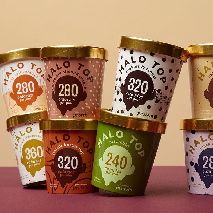 Halo tops 8 newest flavors including pumpkin pie
