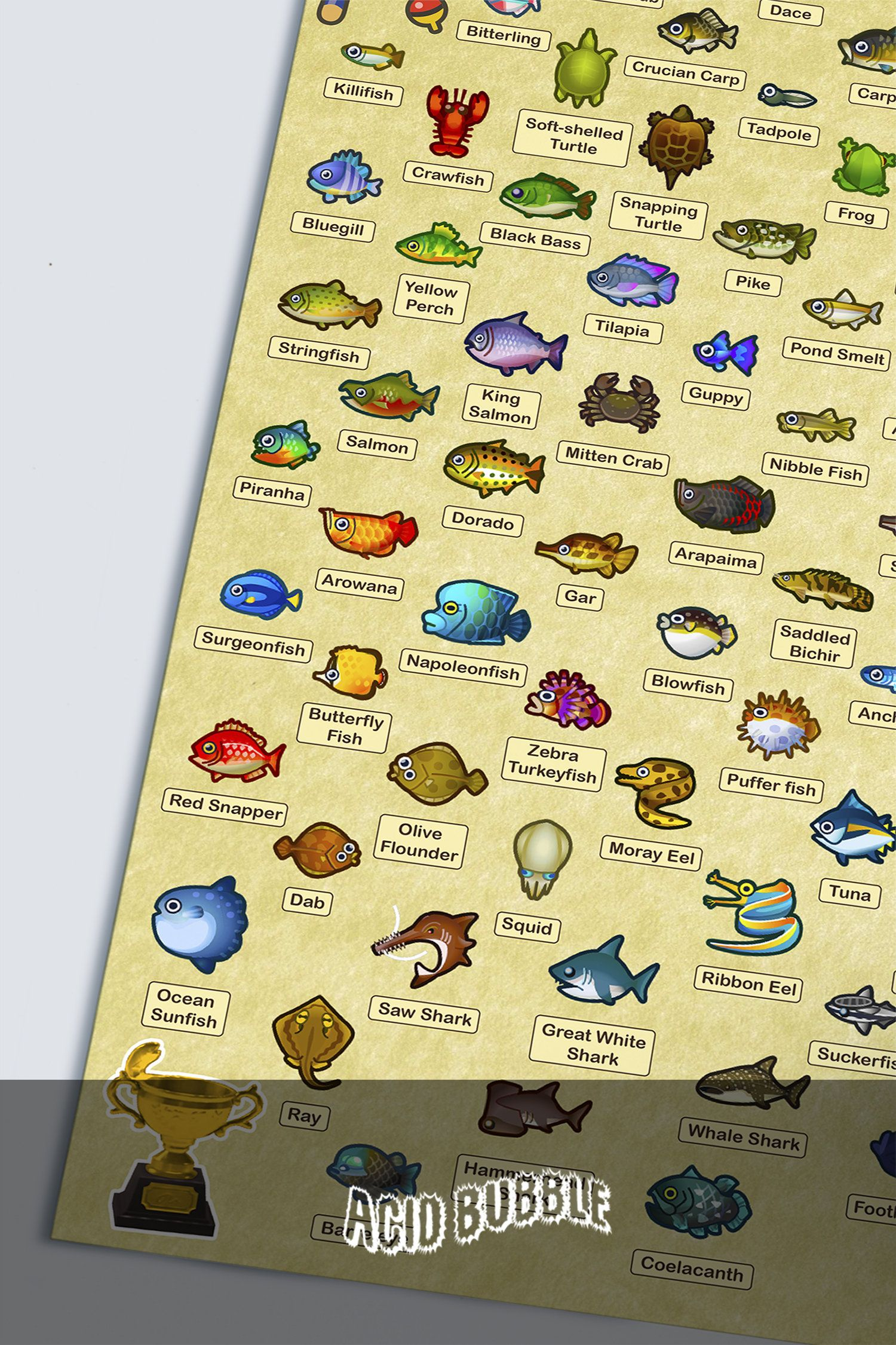 18++ Animal crossing bugs and fish ideas