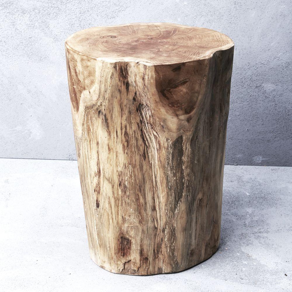 Hadi natural tree stump stool bedroom stools tree stump