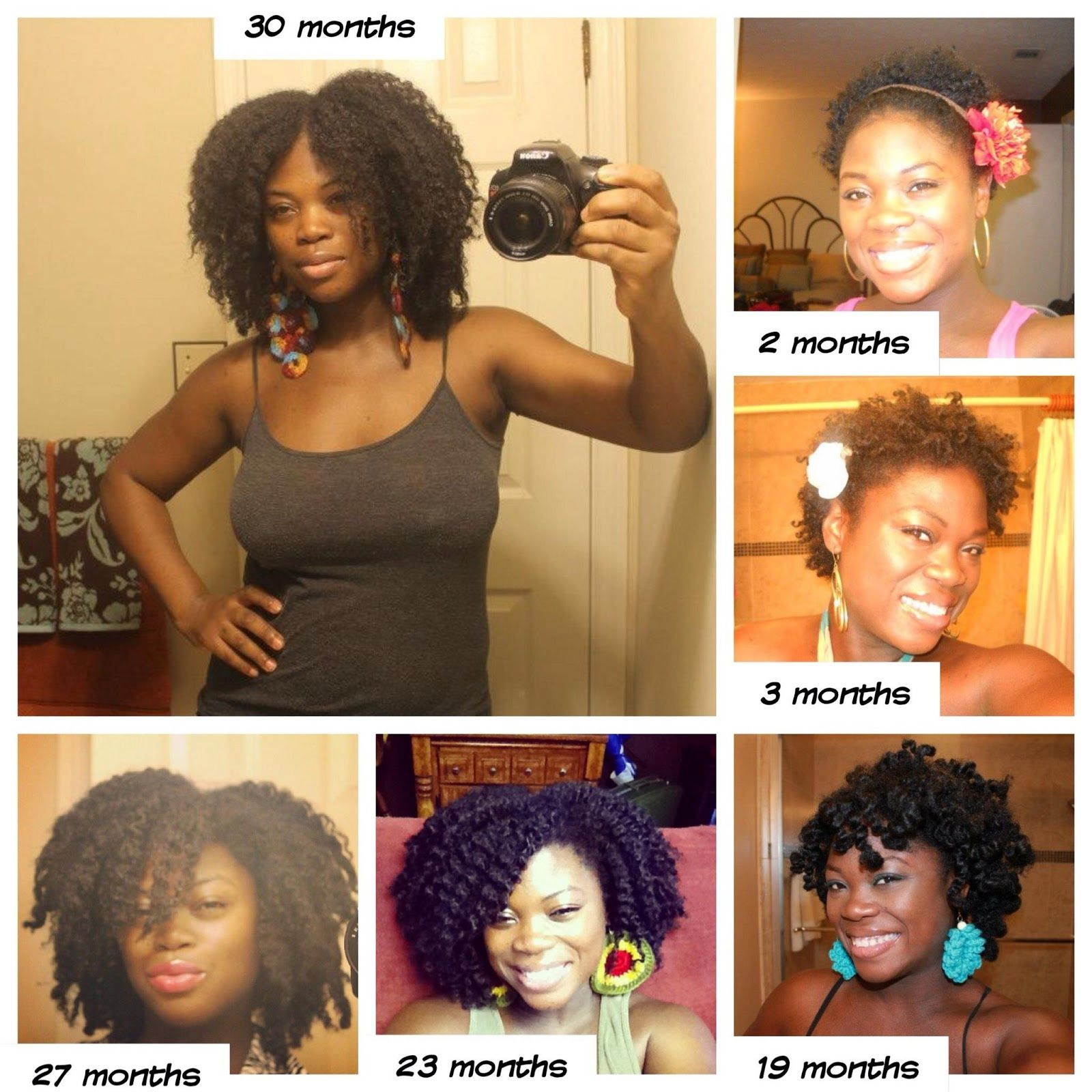 Natural Hair Progress In Pics With Images Natural Black