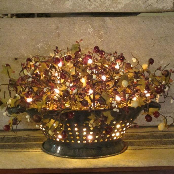 Country Kitchen Christmas Decorations: Images Of Primitive Kitchen Lighting