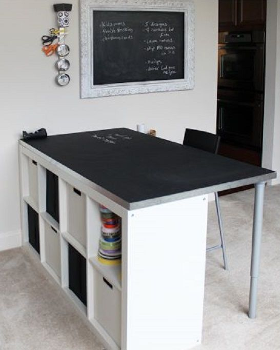 Diy Craft Room Table: But Uses Them In Ways I've Never