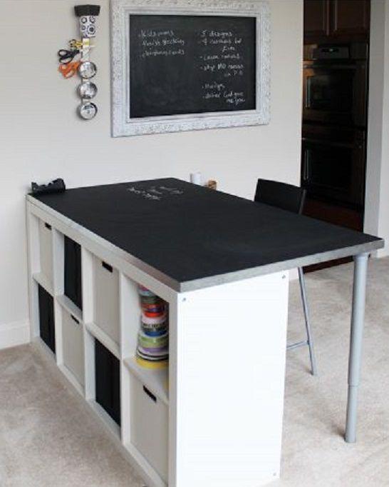desk 1 home decor pinterest chalkboard table desks and chalkboards. Black Bedroom Furniture Sets. Home Design Ideas