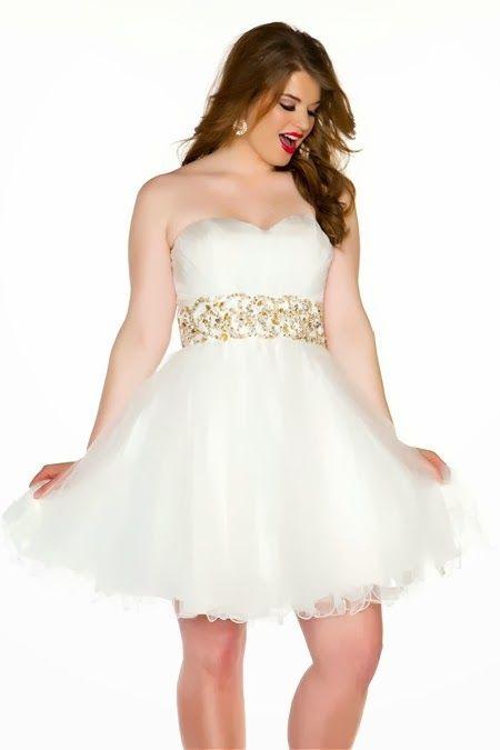 f965a5491 Bonitos vestidos de 15 años para gorditas