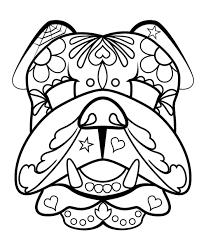 Image result for sugar skull animals | Skull coloring ...