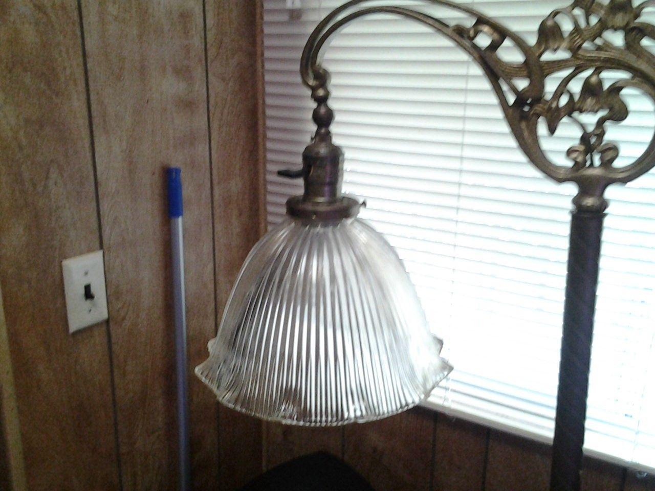 Antique Floor Lamp Glass Shades