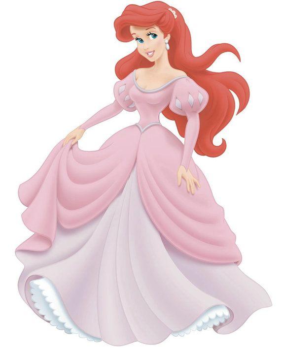 2eeacff785 Ariel pink dress princess disney little mermaid cosplay costume ...