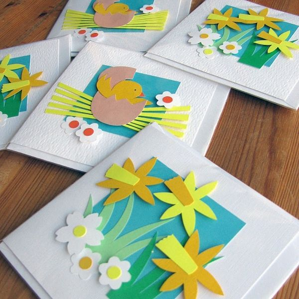 Ideas For Making Easter Cards Part - 46: 100 Fantastic Easter Cards Ideas - Easy Crafts For Kids And Adults