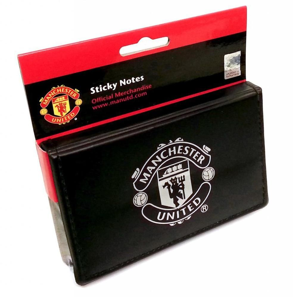 Manchester United MUFC Office Stationary Sticky Notes In Wallet Man Utd Official Business Industrial Equipment Supplies