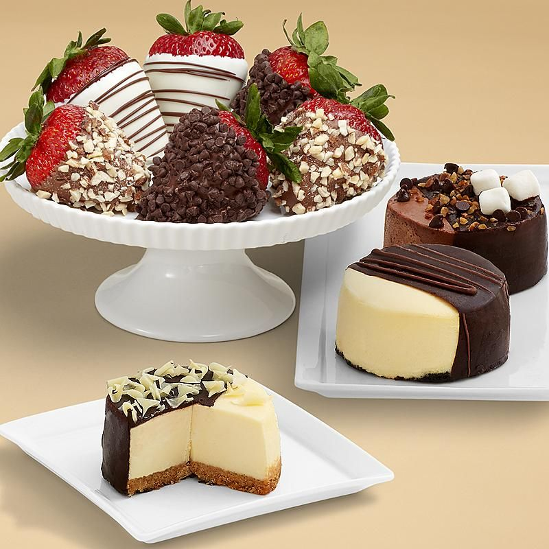 Dipped Cheesecake Trio And Half Dozen Fancy Strawberries Other Chocolates Gifts At Berries Saving For Mothers Day Gift Possibility