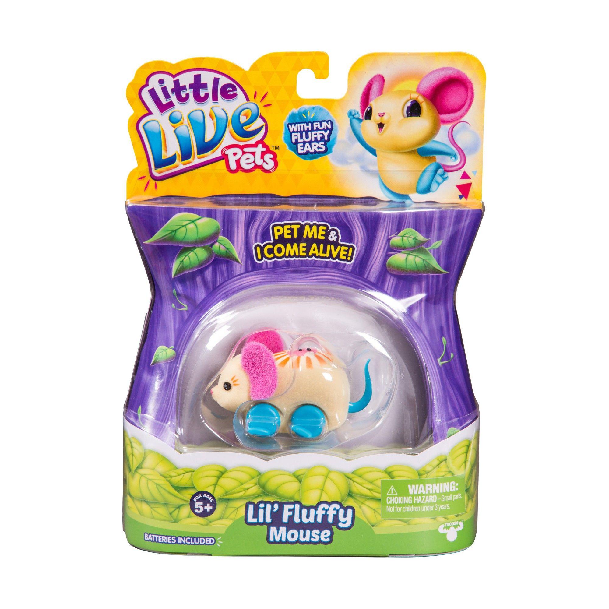 Little Live Pets Season 2 Single Pack Mouse Little Twinkle Top Reviews Little Live Pets Cute Stuffed Animals Pet Mice