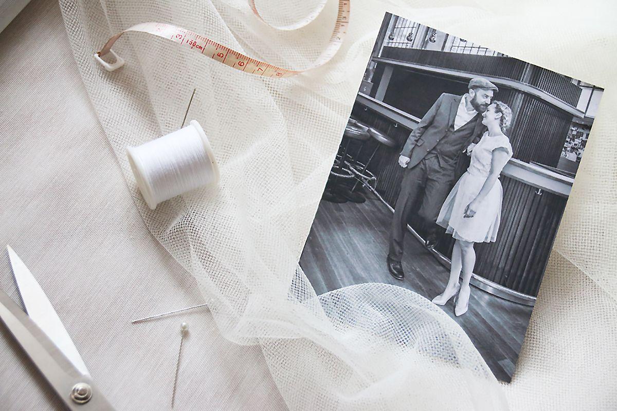 DIY Tüll Jupe auf Spitzenkleid   Hochzeit standesamt, Diy hochzeit ...