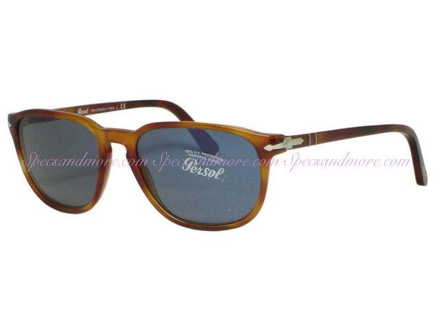 5b0f2ab6f6 Persol PO 3019s Sunglasses 96 56 Light Havana Plastic Frame PO3019 96 56  Persol