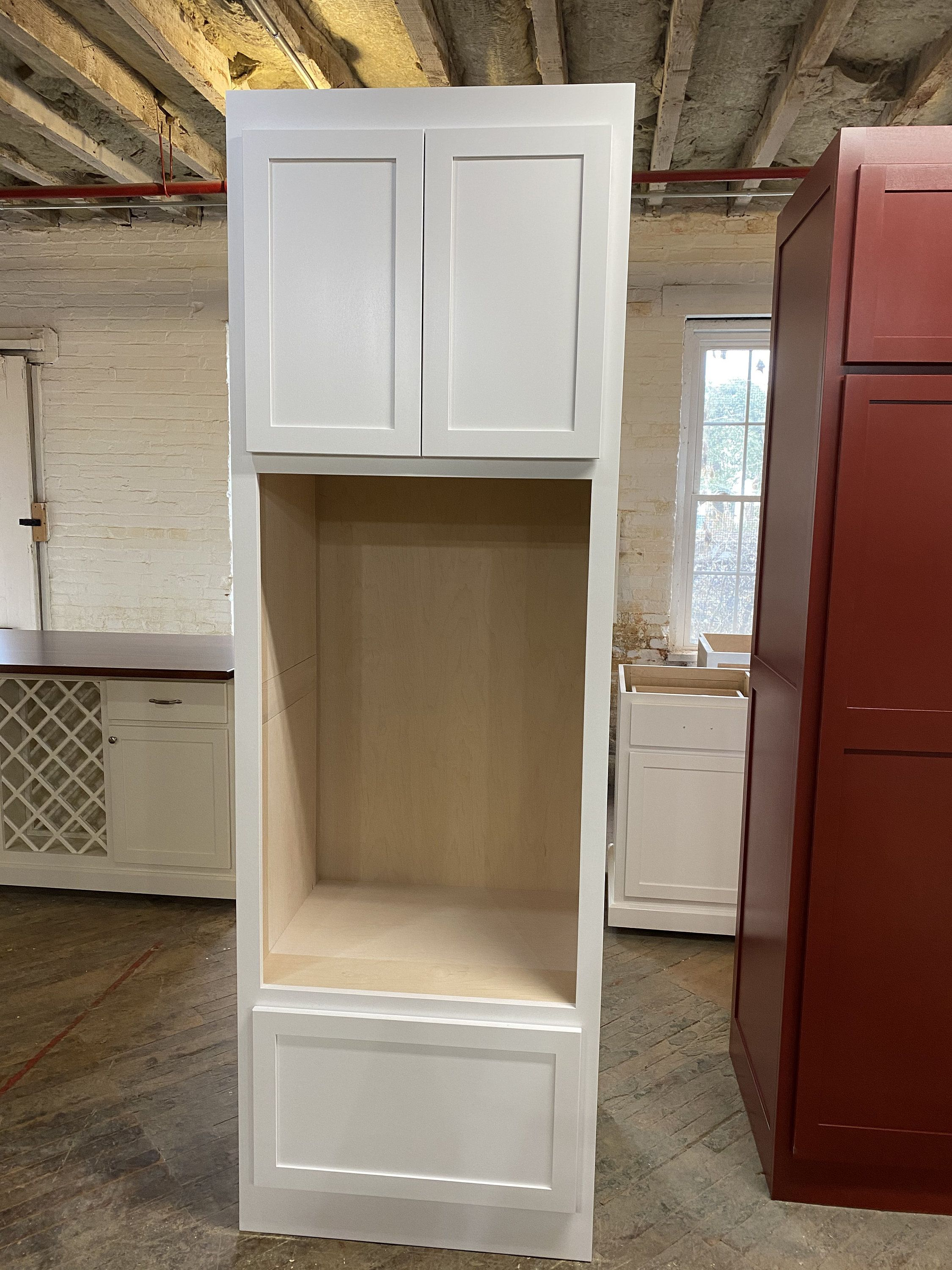 Item #E215 Wall Oven Cabinet, Pantry in 2020 | Oven ...