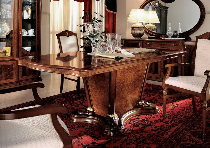 Klassica   Traditional Italian Dining Table Made In Italy