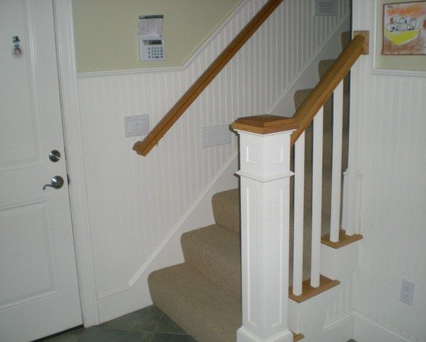 Future Projects Foyer And Staircase Chair Rail Dining Room Wainscoting Faux Wainscoting Diy Wainscoting
