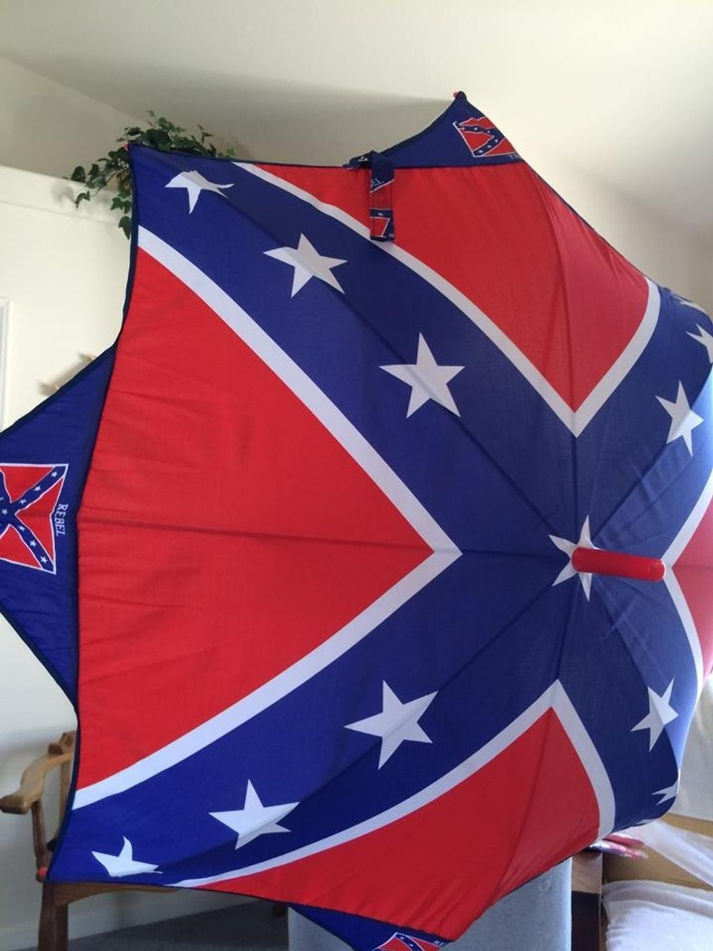 Selling on vflea com confederate flag umbrella