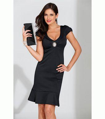reloj proporcionar una gran selección de elige genuino Vestido fiesta mujer manga corta con broche Mujer 10 Venca ...