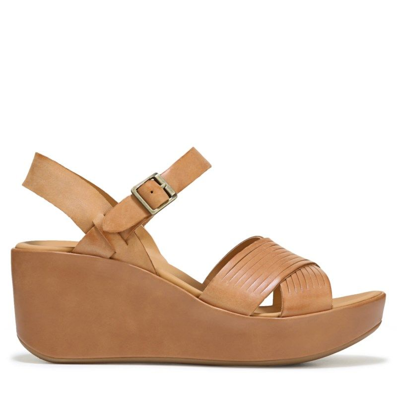 46cc367f8c1 Korks Women s Martinique Wedge Sandals (Brown)