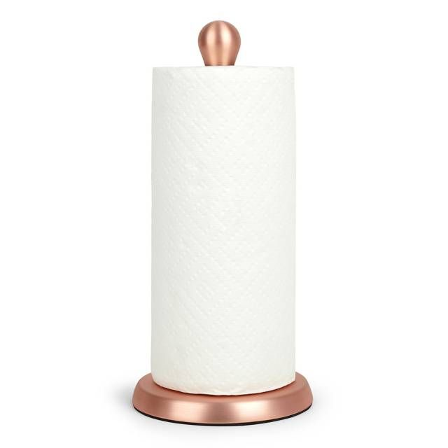 Add Convenience To Your Kitchen With The Super Stylish Umbra Paper Towel  Holder. Crafted From Metal With An Alluring Copper Finish, This Paper Towel  Holder ...