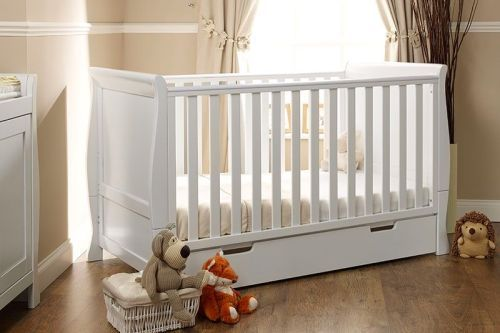 Buy Obaby Lincoln Sleigh Cot Bed