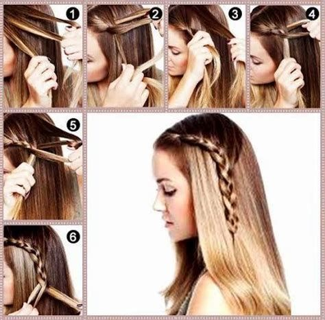 Easy Hairstyle By Own Self Easy Hairstyle Learn How To Braid Your