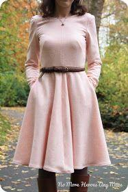 No More Heroes Any More: Projet #5 : la robe pour voir l'hiver en rose