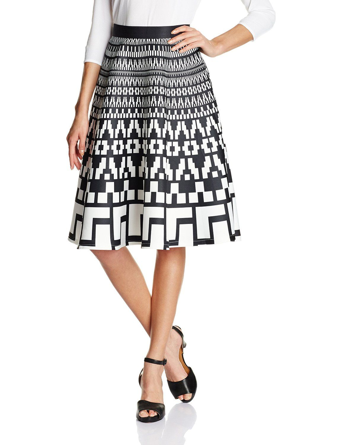 Bysi Women's A-Line Skirt: Amazon.in: Clothing & Accessories ...