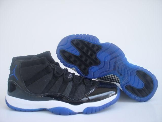 Jordan Shoes Air Jordan 11 Retro Black Blue White [Air Jordan 11 - Durable Air  Jordan 11 Retro Black Blue White shoes are in great quality and popularity.