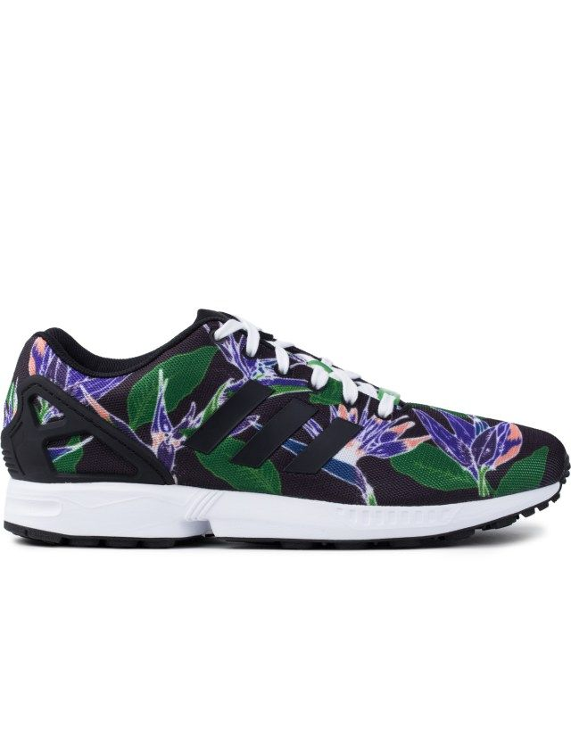 Adidas Originals / schwarz Flower / Originals Weiß B34518 ZX Flux Schuhe | www 533f46