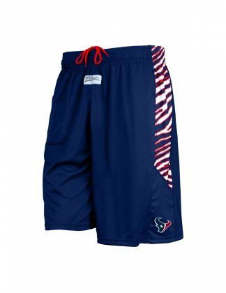 Nfl Officially Licensed Houston Texans Zebra Athletic Shorts Carolina Panthers Outfit Atlanta Falcons Clothes New England Patriots Apparel