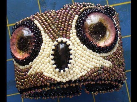 Beaded Owl Cuff!