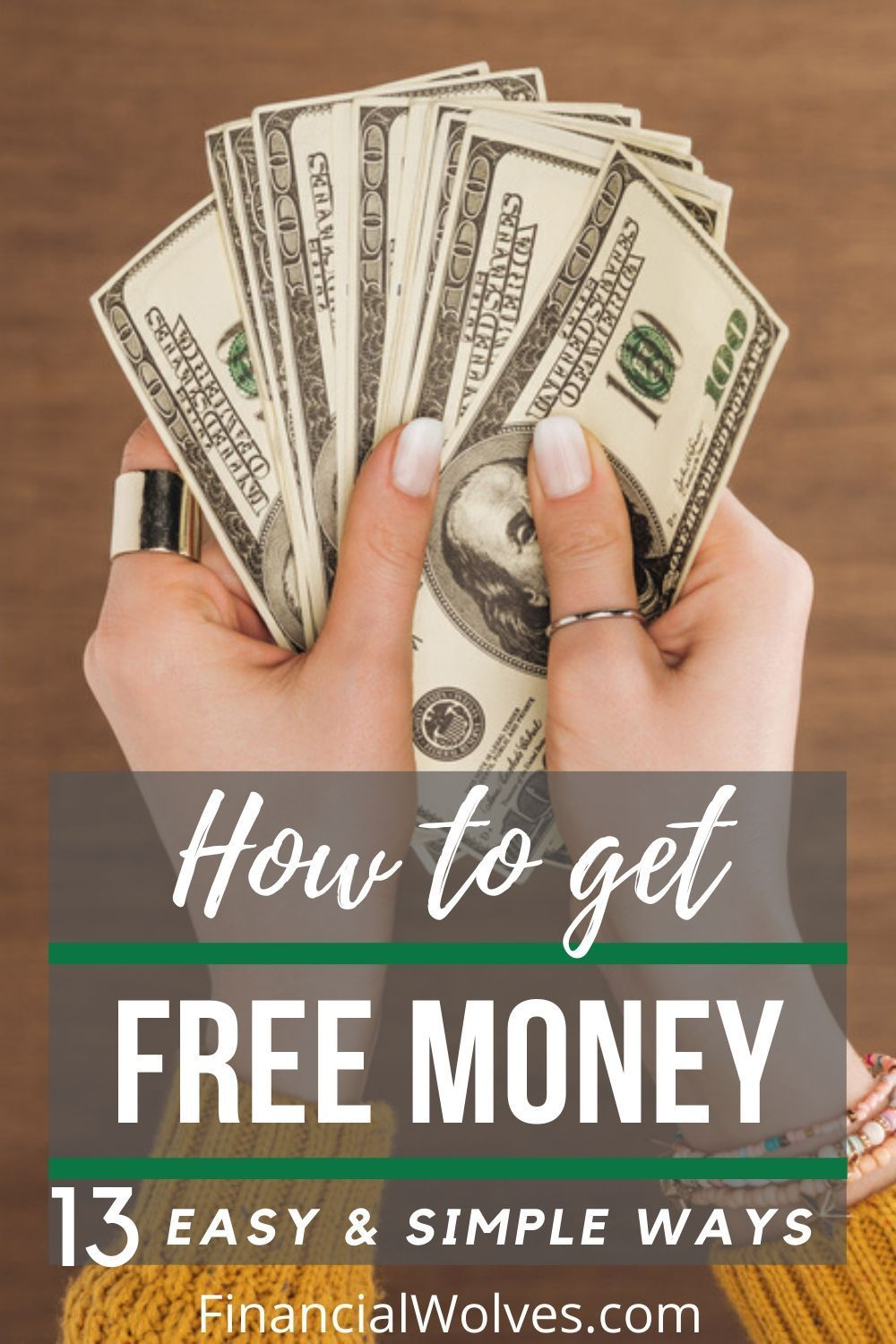 13 Awesome & simple ways to get free money right now! in