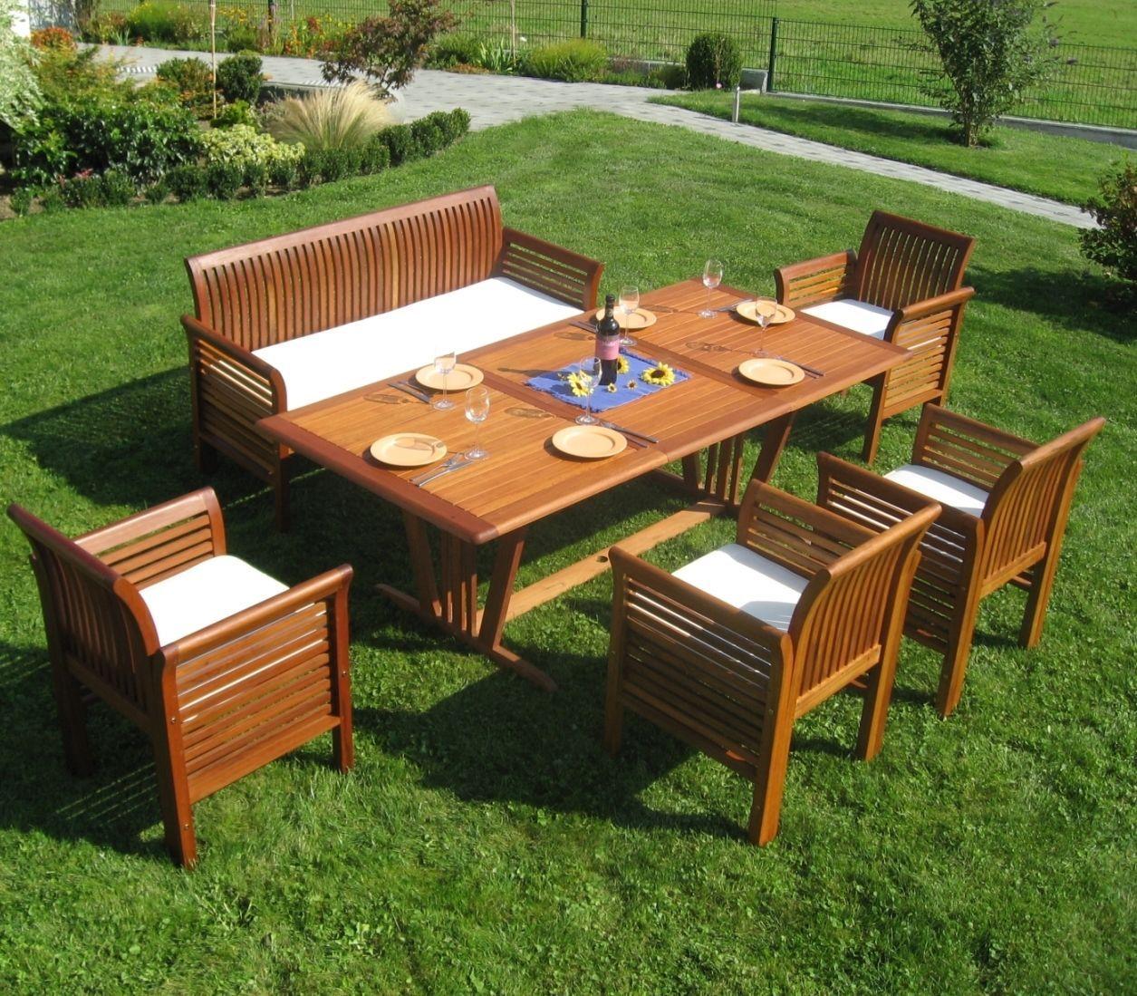 Ebay Camping Campingmobel Campingtische Tische Gartensitzgruppe Holz Big Family Tisch Oval Oder Eck Garten Sitzgruppe Sitzgarnitur Sitzgruppe