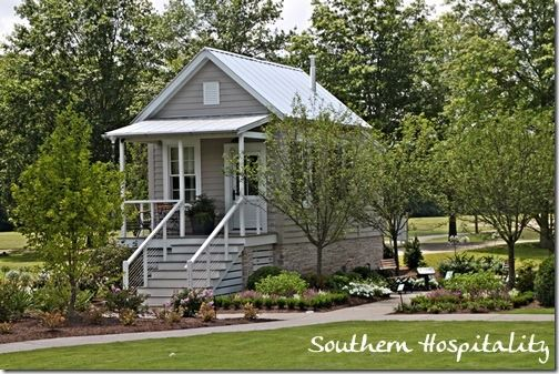 Small Guest House: Southern Living Idea House