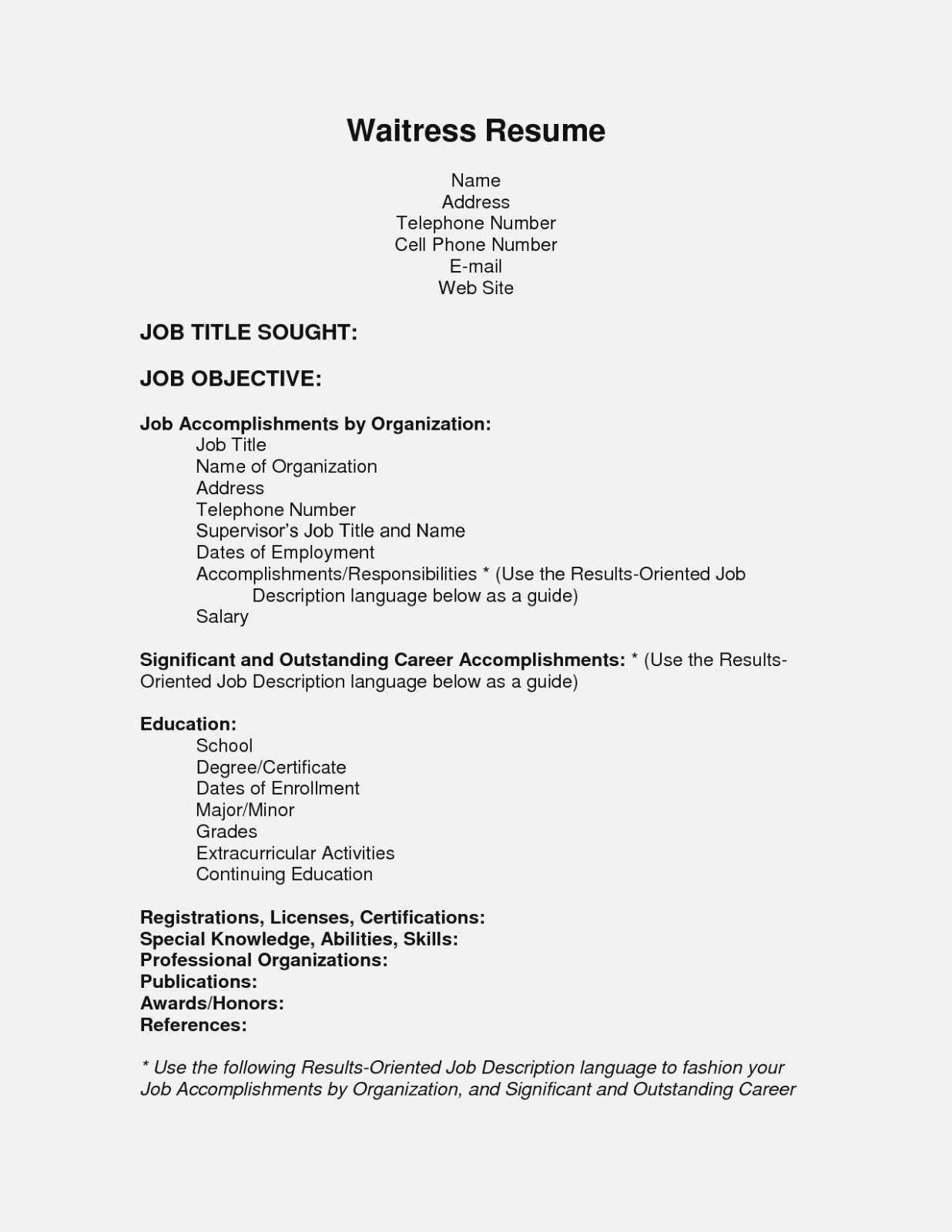 Hostess Job Description for Resume Elegant Hostess Job in