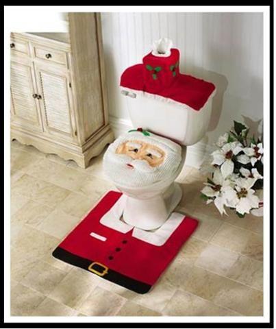 Three Piece Santa Commode Set Item 88267 Indoor