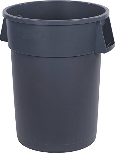 Carlisle Bronco Round Waste Containers And Round Lids