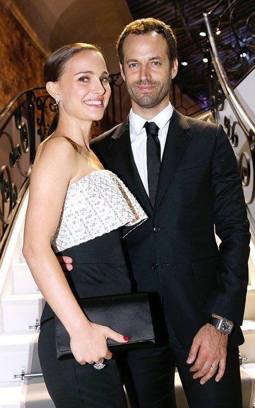 Natalie Portman: Miss Dior Exhibition Opening Cocktail event with Benjamin Millepied!
