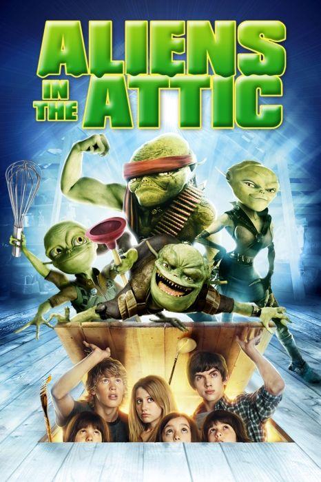 Aliens In The Attic Poster Artwork Kevin Nealon Robert Hoffman Doris Roberts Movie Poster Artwork Finder Movies Full Movies Good Movies