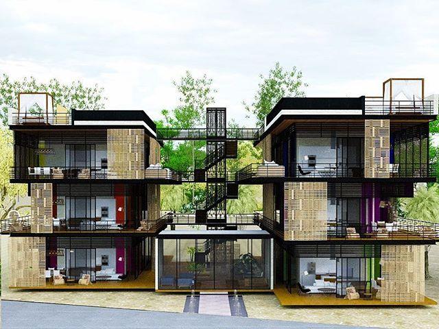 Behold The Newest Addition To Aldea Zama Residential Community Lakshmi Luxury Condos Exquisite Bauhaus Style Residences That Luxury Condo Bauhaus Style Zama