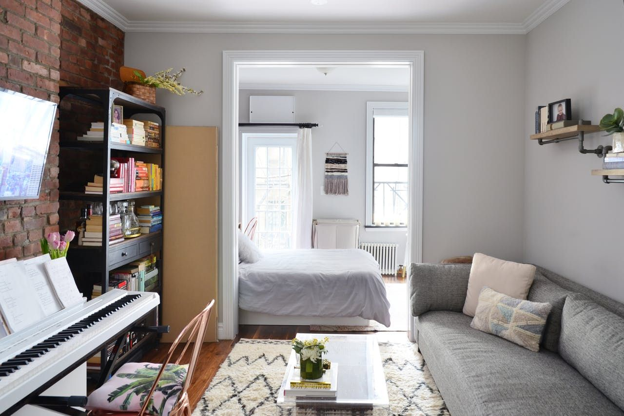 Design of odnushki: tricks for a small space - options and ideas (with photo) 45