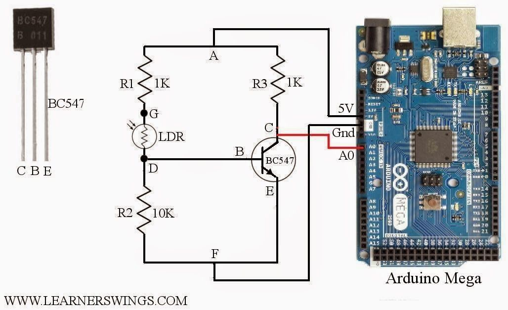 how to measure light intensity using arduino and ldr, measuring ...