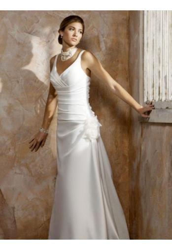 Epingle Par Traci C Sur Wedding Robe De Mariee En Satin