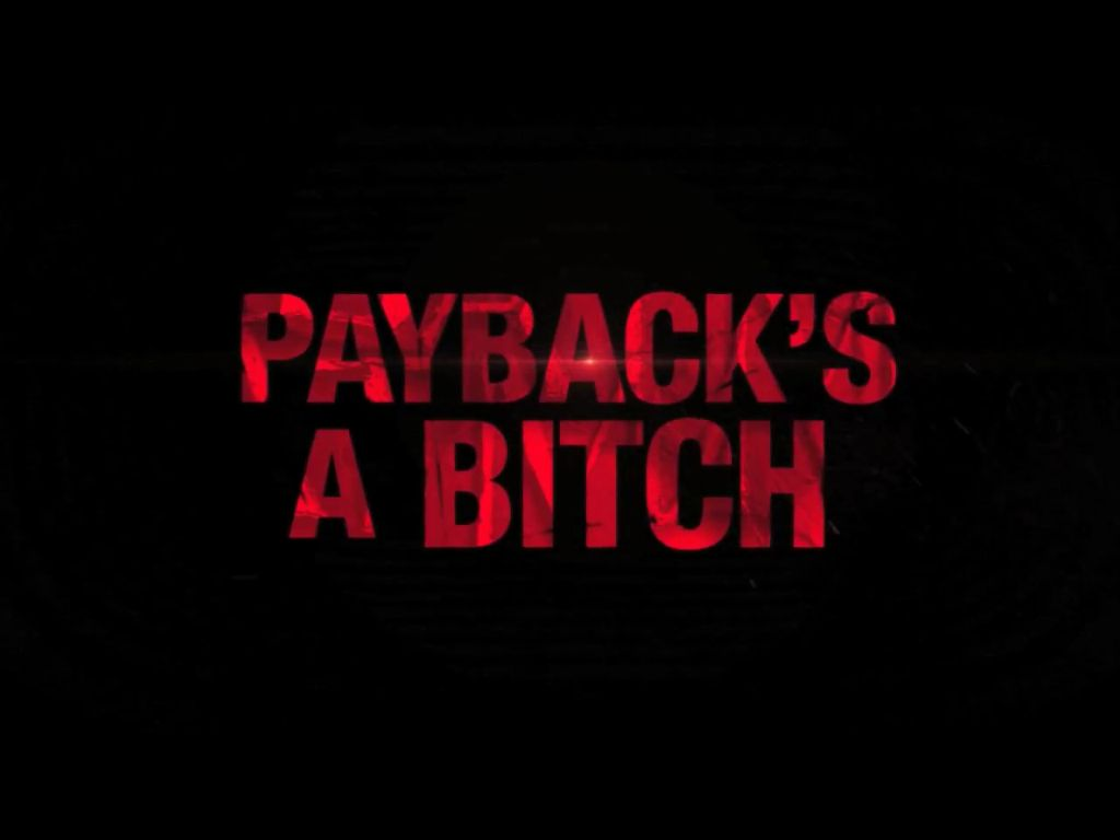 Image result for pay back is a bitch