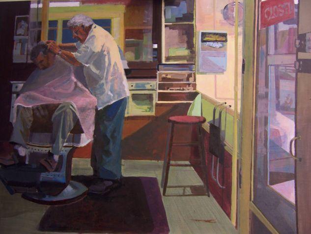 Julia Sanchez Marin, (Spanish), 'The Barbershop'