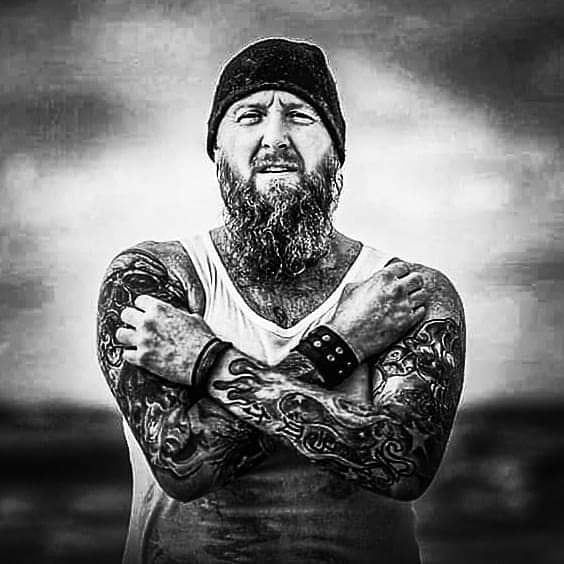 ☠Stand your ground☠ #viking #vikingbeard #vikingbeardclub #instafamous #instabeards #beardsofinstagram #beardsandtattoos #tattooed #tattoomodel #beardmodel #models #tattoolife #tattooed #tattoosleeve #tattooworld #vikingmodel #vikingsofinstagram #vikinglife