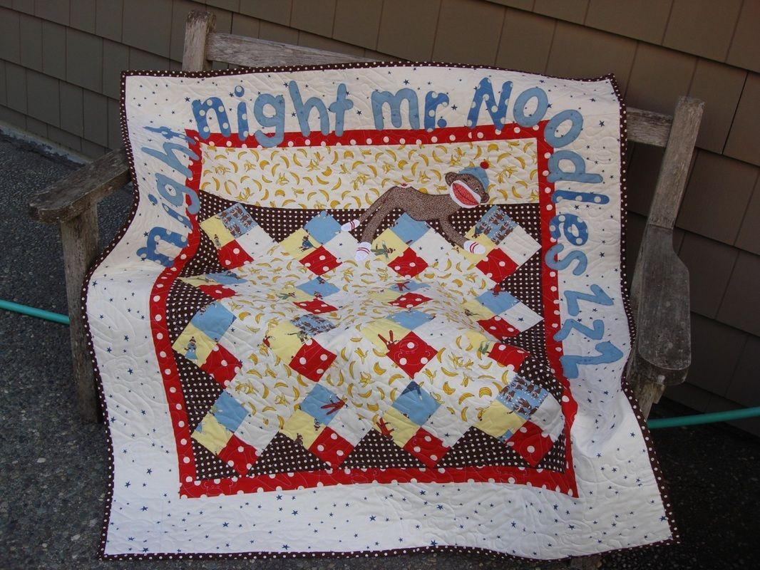 Free applique quilt patterns free sockey monkey applique pattern