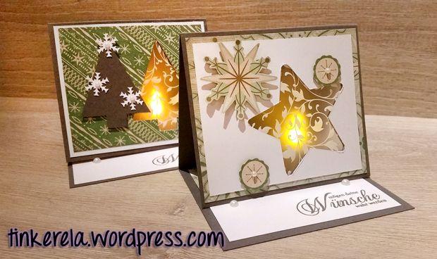 lichterkarte anleitung basteln diy karten weihnachten. Black Bedroom Furniture Sets. Home Design Ideas