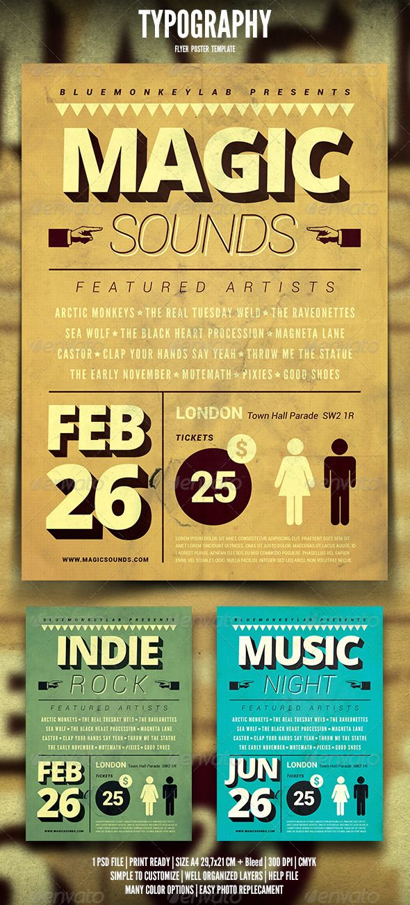 Typography Flyer Poster – Typography Flyer